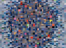 New York, Oil on Linen (108x96cm)